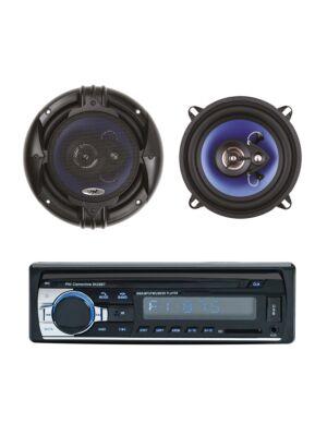Pakiet Radio Odtwarzacz MP3 MP3 PNI Clementine 8428BT 4x45w + Koncentryczne głośniki samochodowe PNI HiFi650