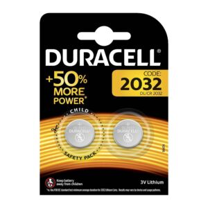 Duracell Batteries Specialty Lithium, DL / CR2032, 2 szt. 50004349