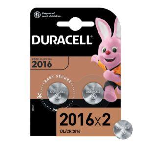 Specjalistyczne baterie litowe Duracell CR2016N, 2 szt