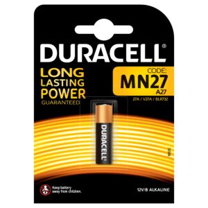Duracell Special Battery MN27 12V Alkaline Code 81546868