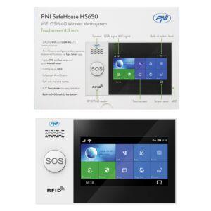 Bezprzewodowy system alarmowy PNI SafeHouse HS650