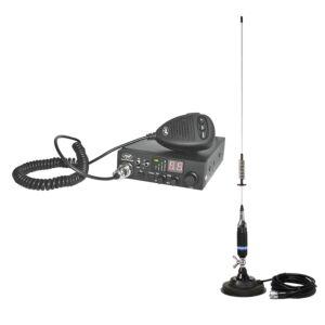 CB PNI ESCORT Stacja radiowa HP 8000L ASQ + antena CB PNI S75 z magnesem